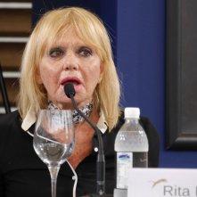 Rita Pavone si confronta col pubblico durante il Festival di Locarno 2014