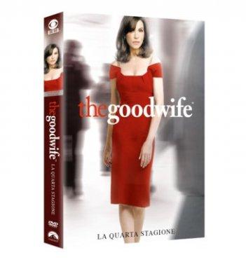 La cover del DVD di The Good Wife - Stagione 4