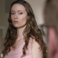 Sequestered: una scena dell'episodio What's in the Box con Summer Glau