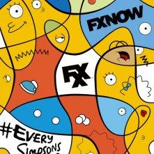 I Simpson: un poster promozionale per la nuova stagione