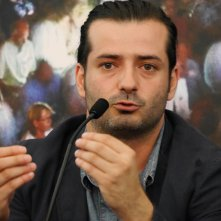 Un primo piano di Bonifacio Angius, regista di Perfidia, film italiano in concorso a Locarno 2014