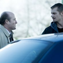 The Killing: Joel Kinnaman e Gregg Henry nell'episodio The Good Soldier