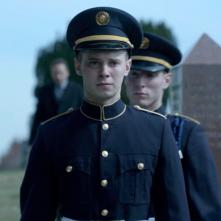 The Killing: Tyler Ross in una scena dell'episodio The Good Soldier