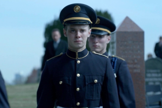 The Killing: Tyler Ross in una scena dell'episodio The Good Soldier