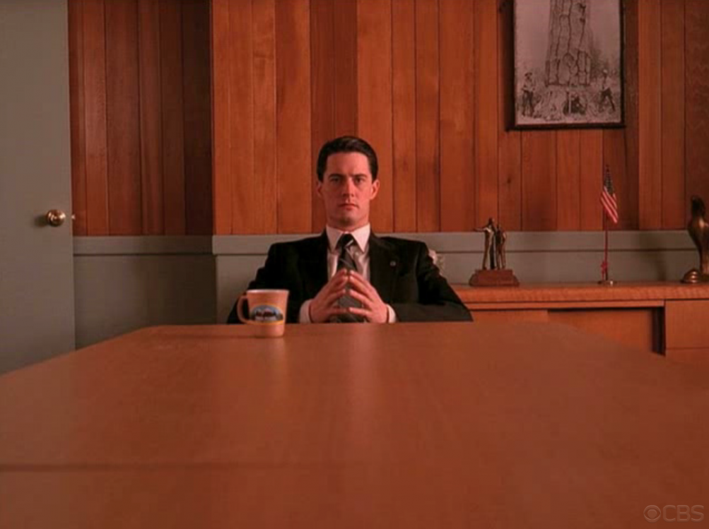 I segreti di Twin Peaks: Kyle MacLachlan in una scena