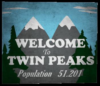 I segreti di Twin Peaks: il cartello di benvenuto il città
