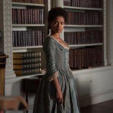 La ragazza del dipinto: Gugu Mbatha-Raw è Belle, la figlia illegittima di un capitano della Royal Navy