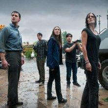 Into the Storm: una scena di gruppo tratta dal film