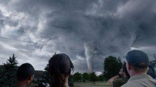 Una scena di Into the Storm