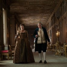 La ragazza del dipinto: Emily Watson con Tom Wilkinson in una scena del film