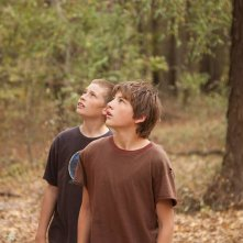 Mud: Tye Sheridan e Jacob Lofland in una scena del film