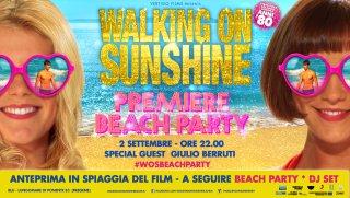 walking on sunshine - il beach party