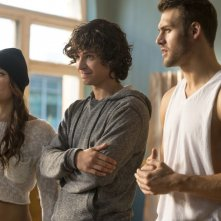 Step Up All In: Briana Evigan con Ryan Guzman e  Adam G. Sevani in una scena