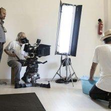 Sul vulcano: il regista Gianfranco Pannone sul set