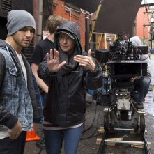 Step Up All In: Trish Sie, regista del film, sul set con Ryan Guzman