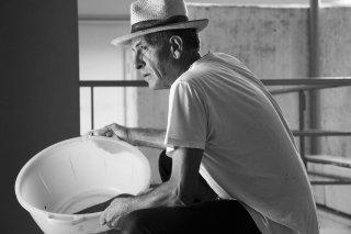 Sul vulcano: Matteo, uno dei protagonisti, in una scena del documentario