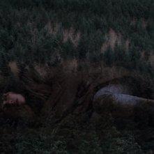 Under the Skin: Scarlett Johansson abbracciata dalla foresta in una scena