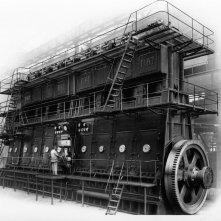 La Zuppa del Demonio: Motore a 8 cilindri Fiat L 758, foto del 1929