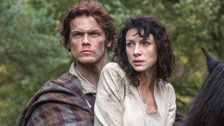 Outlander: Sam Heughan insieme a Caitriona Balfe nel pilot