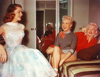 Come sposare un milionario: Marilyn Monroe insieme a Betty Grable e Lauren Bacall