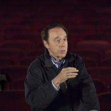 Peter Bogdanovich sul set di Tutto può accadere a Broadway
