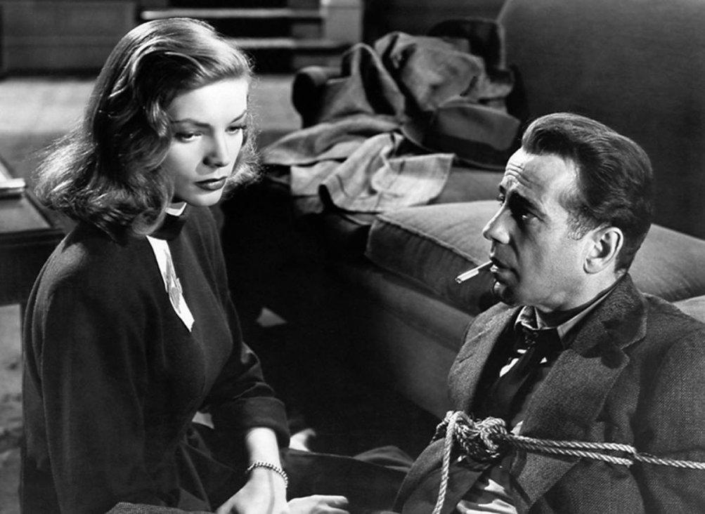 Bogart e Bacall ne Il grande sonno