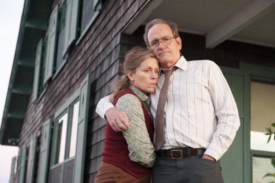 Frances McDormand con Richard Jenkins in una scena di Olive Kitteridge