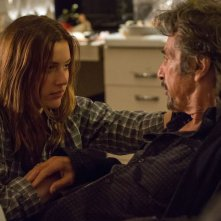 The Humbling: Al Pacino con Greta Gerwig in una scena del film