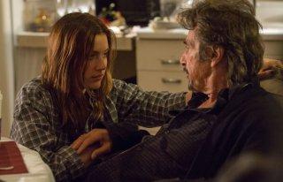 The Humbling: Al Pacino con Greta Gerwig in una scena del film