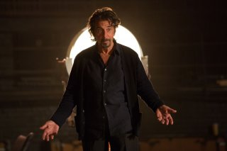 The Humbling: Al Pacino in una scena del film