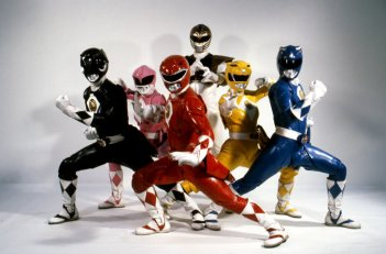 Power Rangers - un'immagine promo dal film