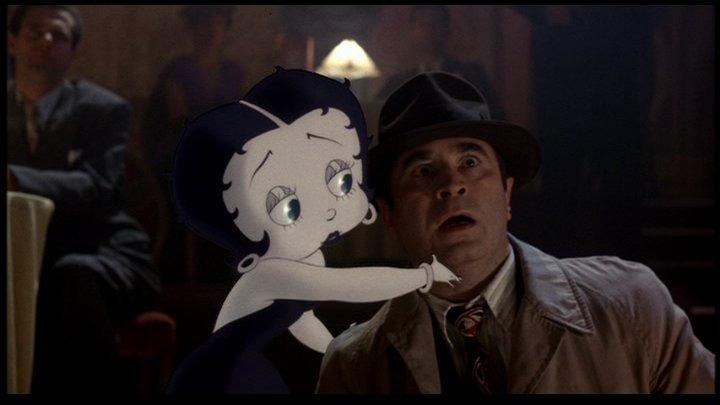 Betty Boop e Bob Hoskins in Chi ha incastrato Roger Rabbit