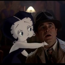 Betty Boop e Bob Hoskins in Chi ha incastrato Roger Rabbit