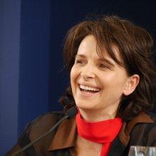 Il sorriso di Juliette Binoche, ospite a Locarno 2014