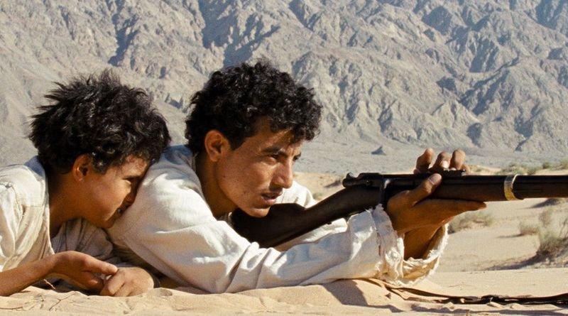 Theeb: Jacir Eid in una scena del film con Hussein Salameh
