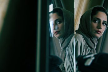 Melbourne: una suggestiva immagine di Negar Javaherian nel film di Nima Javidi
