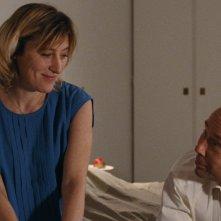 Terre battue: Valerie Bruni Tedeschi e Olivier Gourmet in una sequenza del film