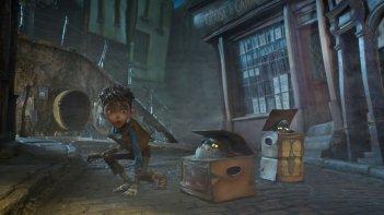 BoxTrolls - Le scatole magiche: una scena notturna tratta dal film d'animazione
