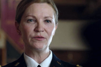 The Killing: un'immagine di Joan Allen nell'episodio Truth Asunder