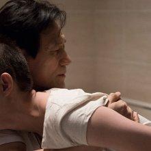 Revivre: Ahn Sung Ki in una drammatica scena del film