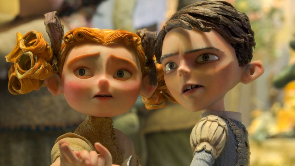 BoxTrolls - Le scatole magiche: Eggs e Winnie una scena del film animato