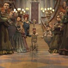 Un'immagine dal film d'animazione BoxTrolls - Le scatole magiche