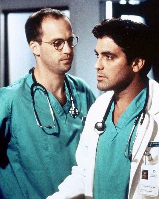 George Clooney Anthony Edwards Er