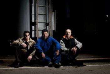 Patria: Francesco Pannofino,Carlo Giuseppe Gabardini e Roberto Citran nel film di Felice Farina