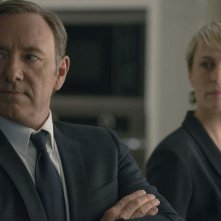 House of Cards: Kevin Spacey e Robin Wright in Chapter 22