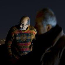 Patria: il regista Felice Farina con Roberto Citran sul set del suo film