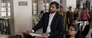 Court: Vivek Gomber in una scena del film
