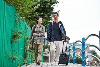 Hill of Freedom: Seo Young-Hwa con Ryô Kase in una scena del film