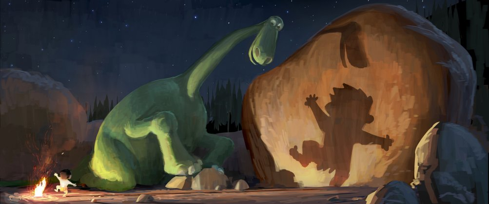 The Good Dinosaur: concept art