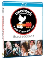 La cover del blu-ray di Woodstock